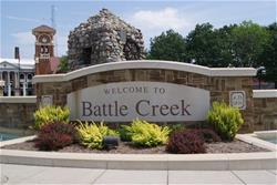 Welcome to Battle Creek sign